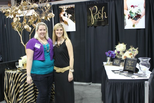 Allen Bridal Show, Texas Bridal Show, Best Bridal Show in Texas, Florist at bridal shows, Posh Floral Designs
