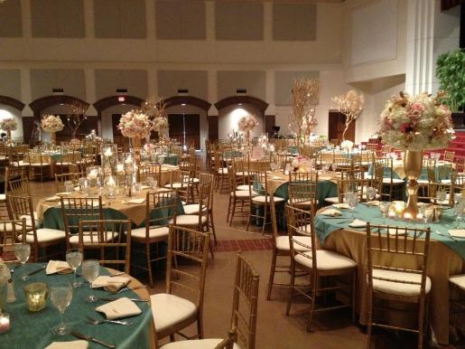 Pink Gold and White Decor, Pink Wedding, Gold Wedding, Posh Floral Designs, Angie Strange, Prestonwood Dallas Campus