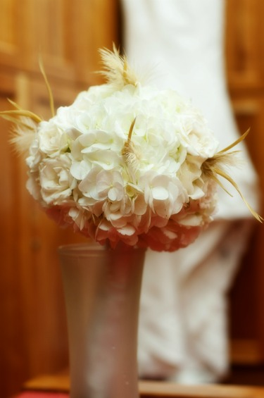 White Hydrangeas, Posh Floral Designs, Feathers and Flowers, Seize the Day Photography, Mckinney TX Wedding
