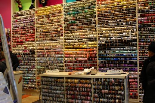 Ribbon Walls, Ribbon Stores, Best Ribbon Store, Posh Floral Designs