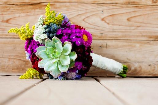 Spring Bouquet, Succulent Bouquet, Allison Davis Photography, Wildflower Bouquet