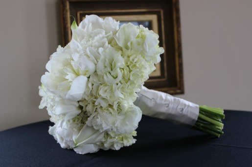 All white flowers for weddings, Peonies Fringe Tulips Calla Lilies, Fringe Tulips, All white flowers for weddings, Aisle flowers, Stonebridge Ranch Country Club, Posh Floral Designs