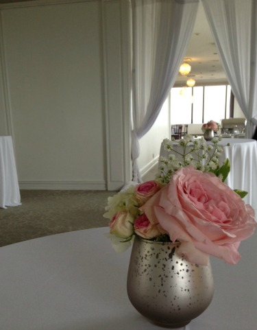 Orion Ballroom, Posh Floral Designs, Pink and White Weddings, Vintage Weddings, Romantic Weddings,