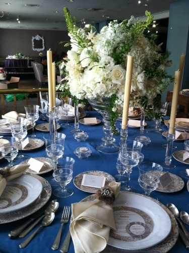 Juliska, Neiman Marcus, Posh Floral Designs, Flower Centerpiece Ideas,