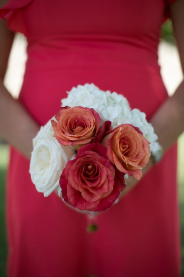 Coral Roses, Summer time flowers, posh floral designs, bouquet idea, O'hara Rose,