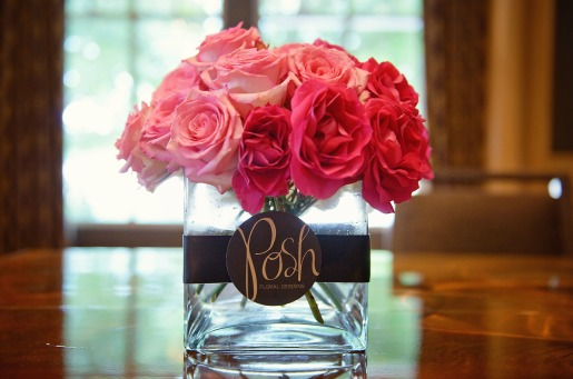 Pink Centerpieces, Pink Roses, Light Pink Roses, Peonies, Hydrangeas