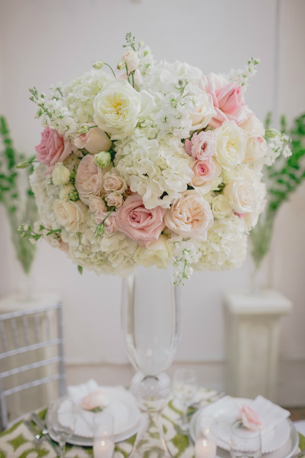 ... Garden Party | Posh Floral Designs | Large Centerpieces | Pink And  Green Weddings | Pink