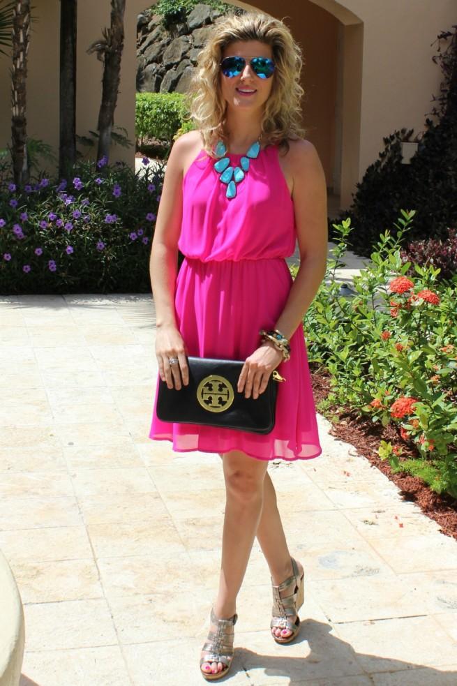 Fuchsia Summer Dresses