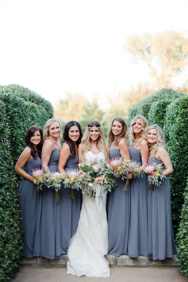 Bohemian Style Wedding | Dallas Wedding | Posh Floral Designs| King Protea Bouquets | Garden Weddings | Dahlias