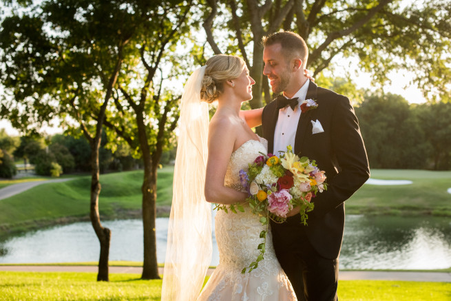 Wedding of Robin Edwards & Travis Klein held at Prestonwood Baptist Church Chapel & Glen Eagles Country Club in Plano, TX on May 14th, 2016.