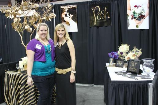 Allen Bridal Show, Texas Bridal Show, Best Bridal Show in Texas, Florist at bridal shows, Posh Floral Designs