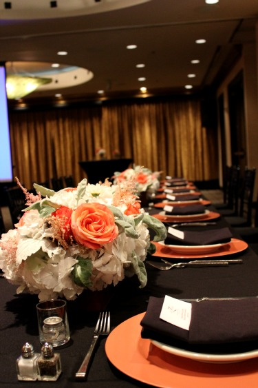 Cocktail Table Decor, Country Chic Wedding, Vintage Wedding, Rustic Wedding, Coral Centerpieces, Daisies, Coral roses, pink astilbe, dusty miller, scabiosia pods, raffia, mason jars, hotel ZaZa, wedding venues in Dallas, Wedding receptions, Wedding rehearsal dinner ideas, rehearsal dinner ideas, posh floral designs,