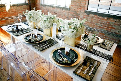 NYE Decorations, party Decorations, Posh Floral Designs,