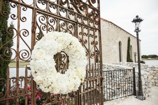 Gate Decorations for Weddings, Floral Wreaths, Beautiful Chapels in Dallas