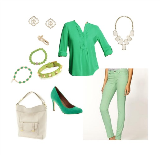 Kendra Scott, Old Navy, Valentino, PiperLime, Green Shoes, Banana Republic, Gold Cross Ring