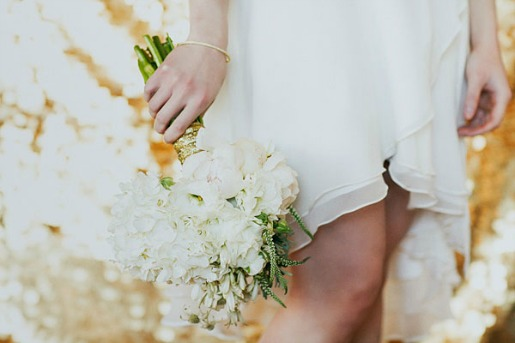 White and Gold Bouquets, Glitter Background, All White Bouquets, White Bouquets, Posh Floral Designs