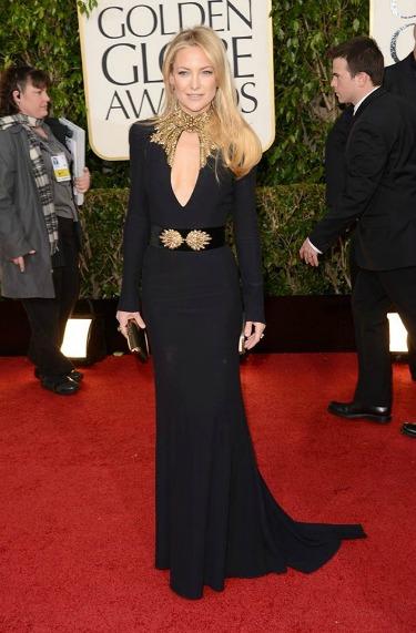 kate hudson, best dressed, golden globes,