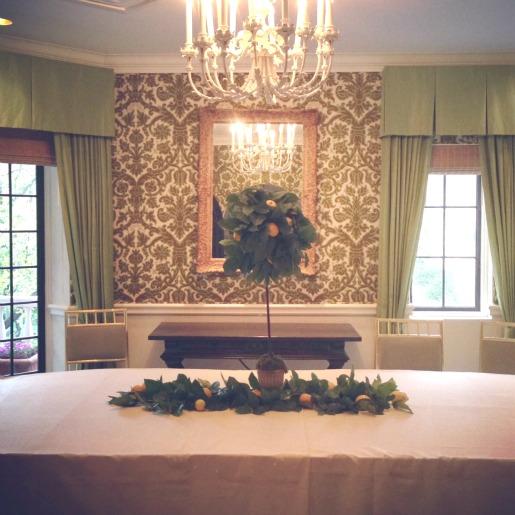 Lemon Topiary, Lemon Centerpiece Ideas, The Mansion, Posh Floral Designs, Souther Vogue