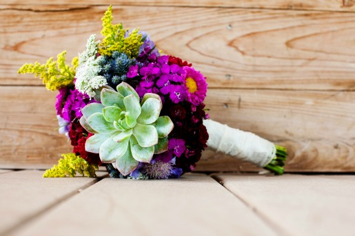 Spring Bouquet, Succulent Bouquet, Allison Davis Photography, Wildflower Bouquet