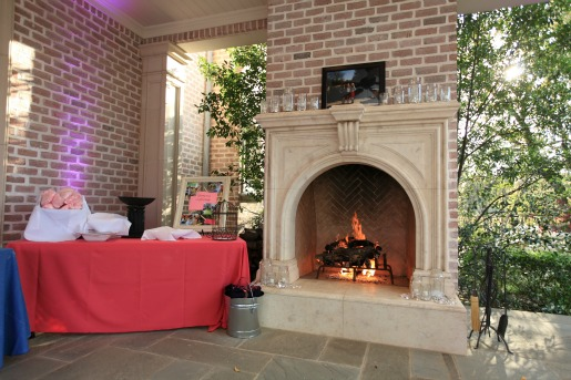 Fireplace decor, Posh Floral Designs