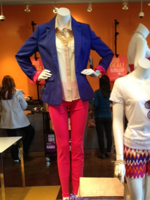 Blue Blazers, Hot Pink Skinny Jeans,