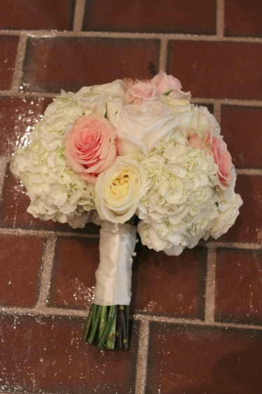 O'hara rose, White hydrangeas, blush roses, blush bouquets, pink roses, blush weddings