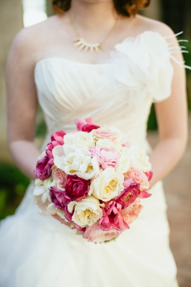 Pink and White Bouquet, White Peonies, Pink Ranuculus, white Ranuculus, Posh Floral Designs,