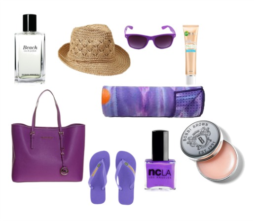 purple beach necessity