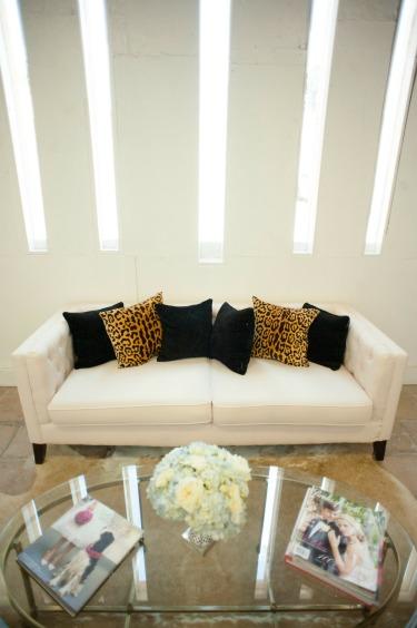 Posh Floral Designs, Design Studio, Floral Studio, Angie Strange, White couches