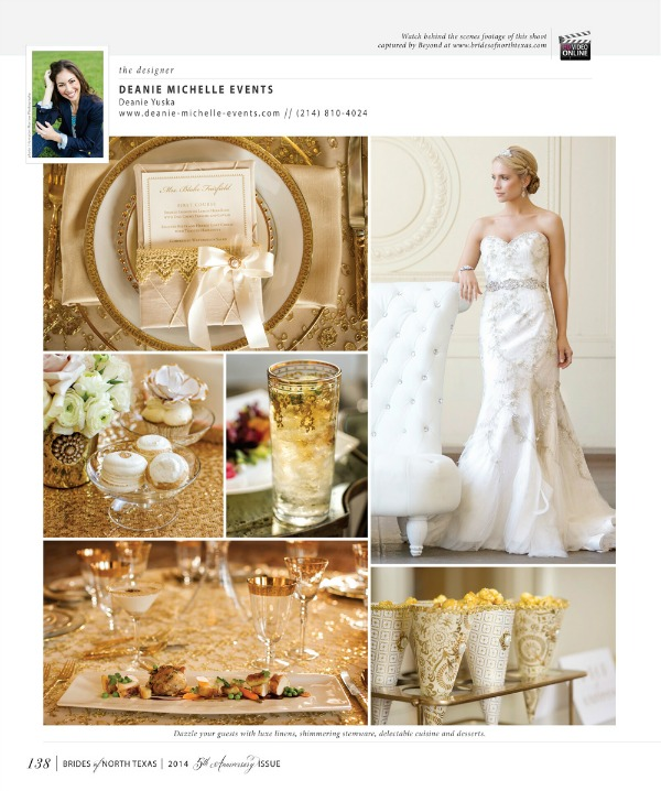 Brides of North Texas, Bridal Magazines, Blush Pink Wedding, Union Station, Crystal and Gold Wedding, Gold Wedding, Posh Floral Designs