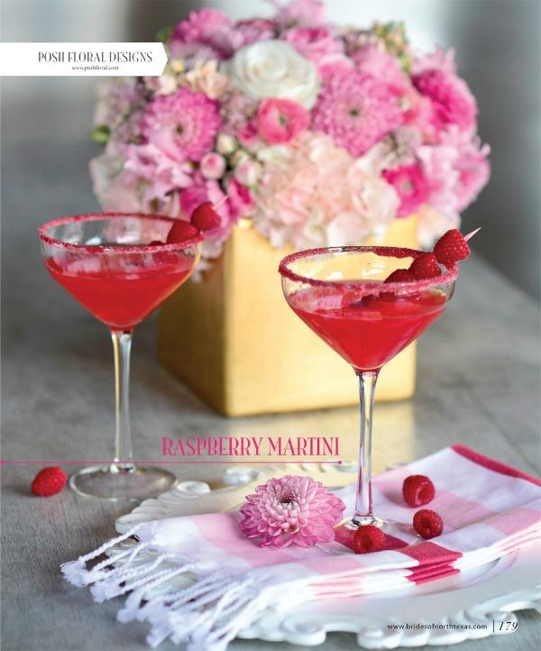 Pink Cocktails, Pink Bridesmaids Dresses, Patsy's Bridal Boutique, Cocktail Dresses, Pink and White Flowers, Posh Floral Designs