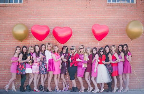 Valentine's Brunch Ideas, Valentine Outfit Ideas, Party Favor Ideas, Blogger Brunch