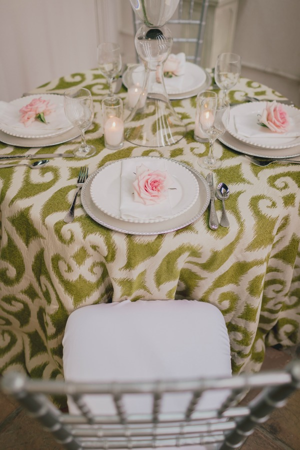 Garden Party   Posh Floral Designs   Large Centerpieces   Pink and Green Weddings   Pink and White Weddings   Bells of Ireland   Garden Roses