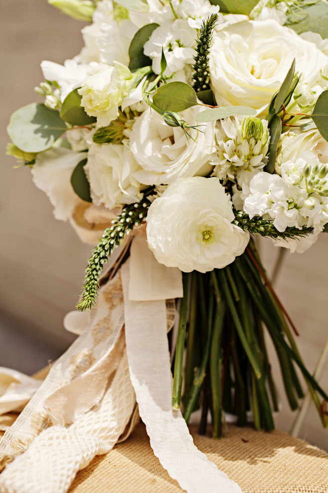 Garden Bouquet | White Bouquet | Posh Floral Designs | Wedding Bouquets