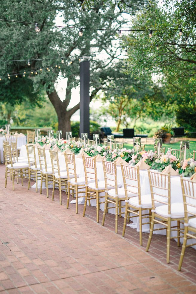 Posh Floral Designs Dallas wedding florist | Dallas Arboretum Sunken Garden