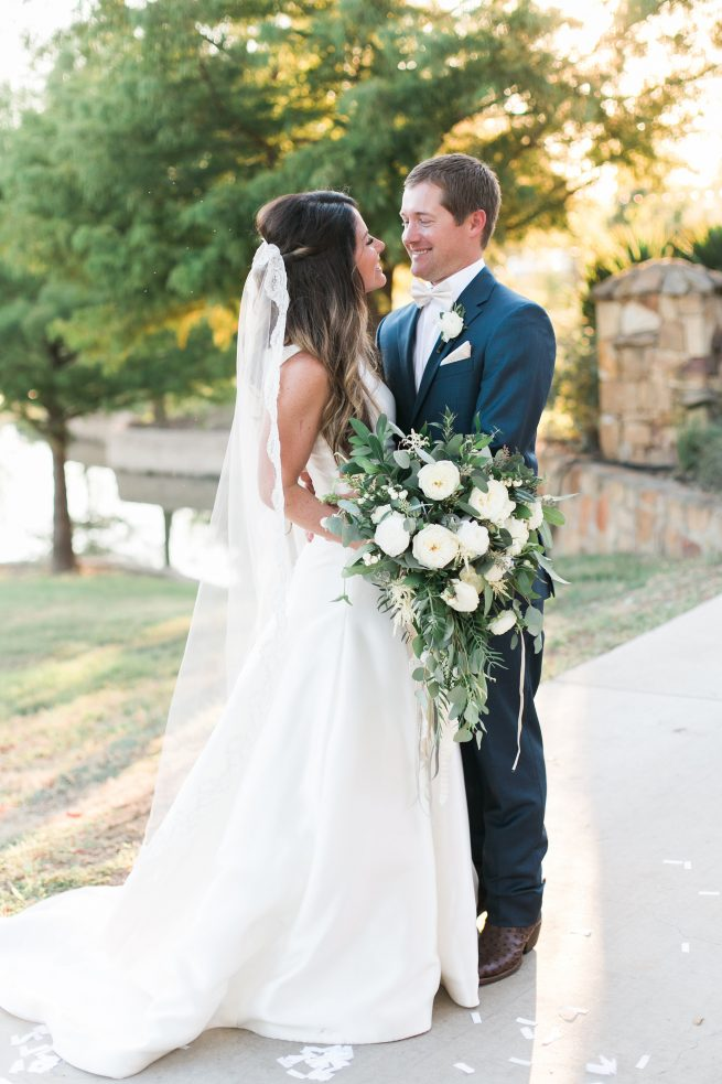 Posh Floral Designs Dallas wedding florist | romantic nature Charla Story Photography