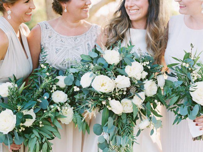 Posh Floral Designs Dallas wedding florist | romantic nature Charla Story Photography