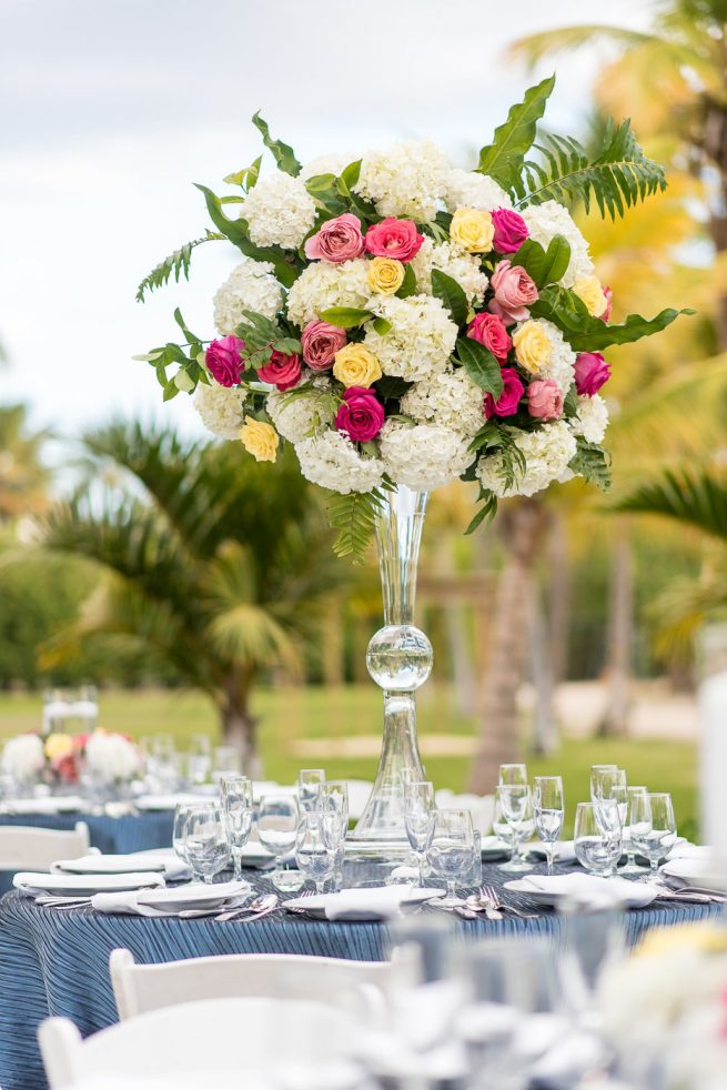 Posh Floral Design Dallas wedding florist Copa Marina Beach Resort