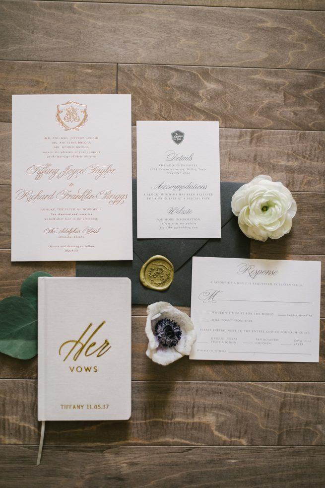 Posh Floral Designs Dallas Texas wedding florist | The Adolphus Hote