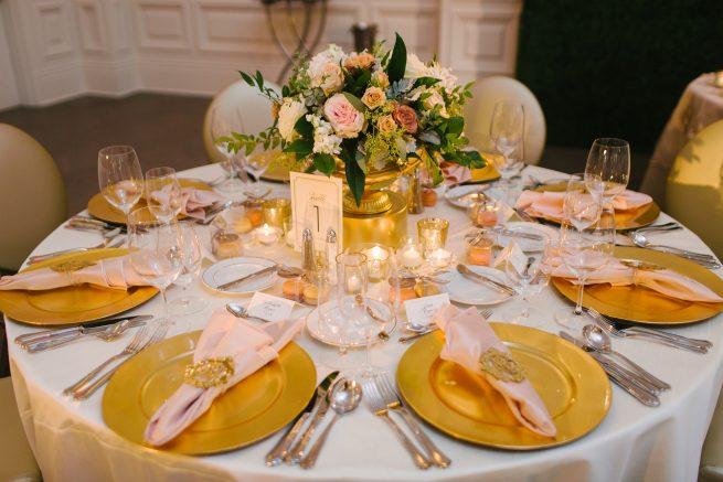 Posh Floral Designs Dallas Texas wedding florist   The Adolphus Hotel