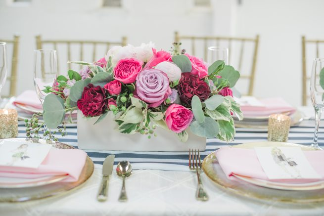Posh floral designs Dallas Texas wedding florist | Valentines brunch Dyan Kethley Photography